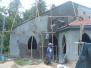 Voortgang van het nieuwe project in Katupotha